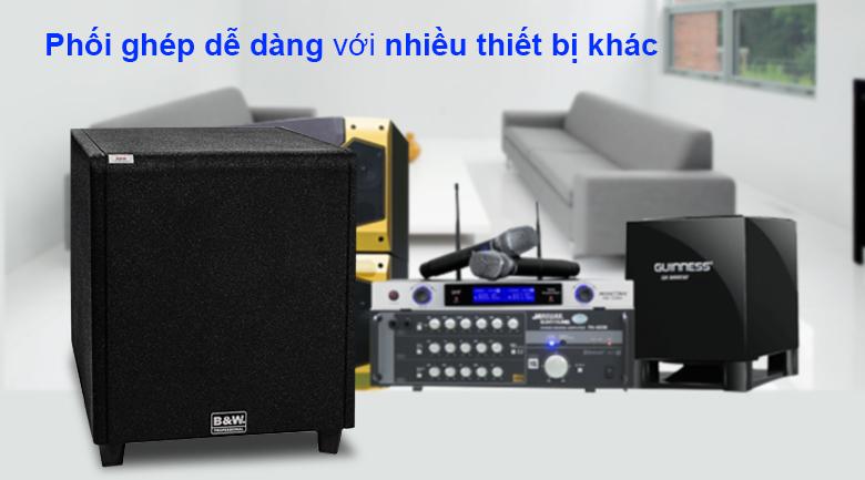 Loa Sub điện B&W 604Gs | phối ghép dễ dàng