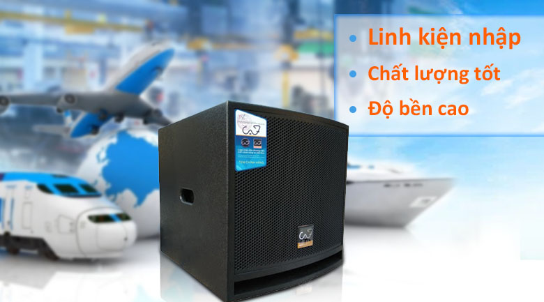 Loa SUB CAF TVW-King12S new 2019 | linh kiện cao cấp