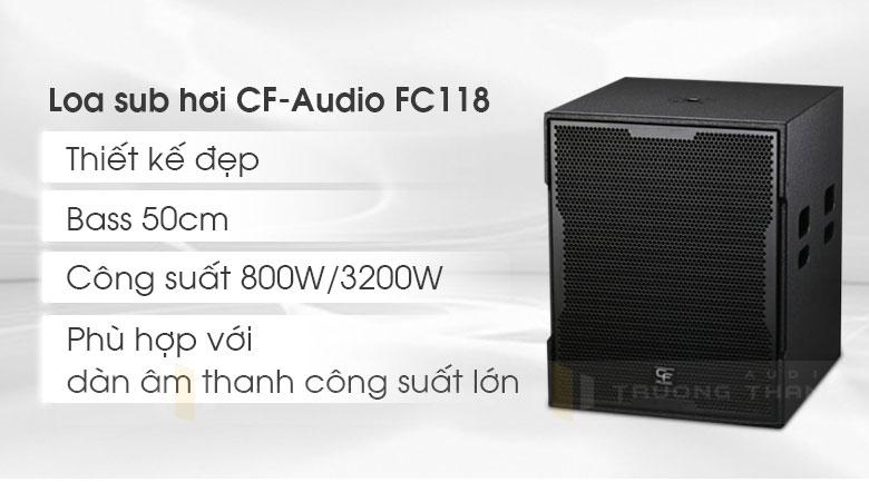 Loa sub CF-Audio FC118 3