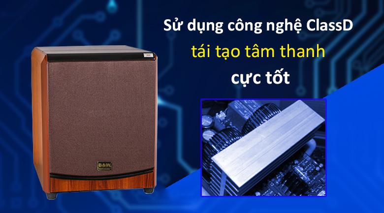 Loa Sub điện B&W 604 8No | chất âm hoàn hảo