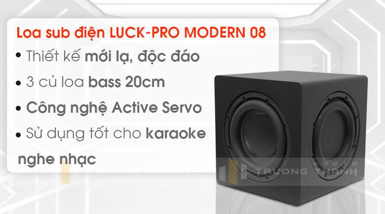 Loa sub Luck pro Modern 08 1