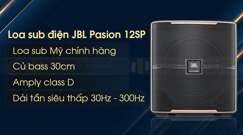 Loa sub JBL Pasion 12SP tính năng 1