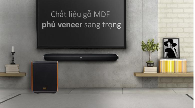 Loa sub B&W 12Q | gỗ MDF cao cấp