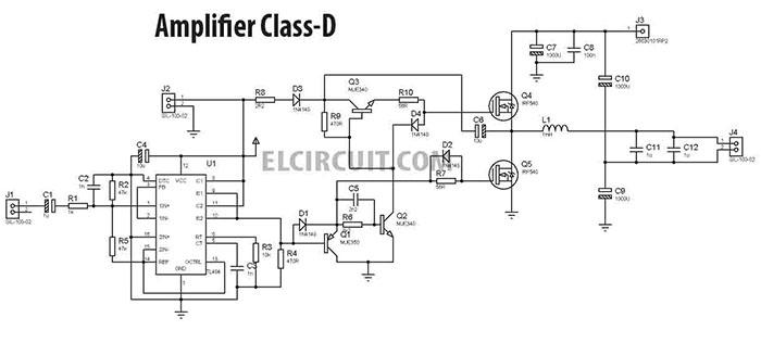 Mạch Class D là gì? Ưu điểm mạch công suất Class D