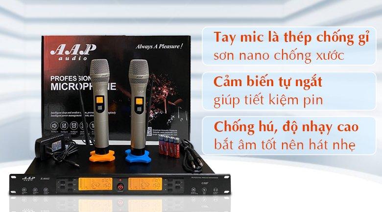 Micro AAP K800II tính năng 1