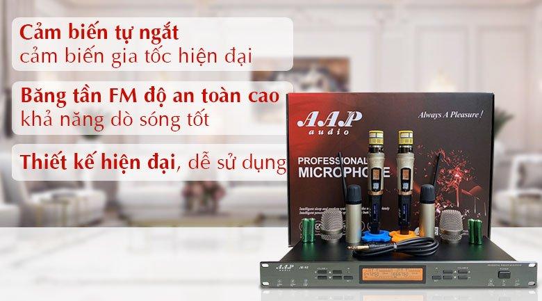 Micro không dây AAP M8II tính năng 1
