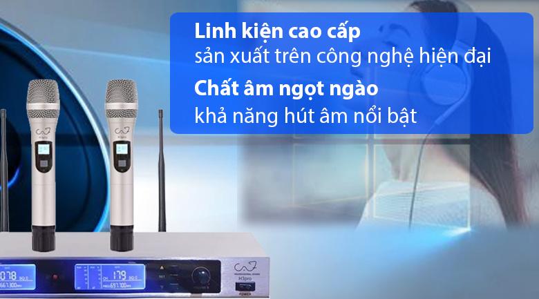 Micro CAF H3 pro | Linh kiện cao cấp, thu phát trung thực
