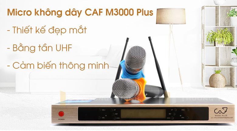 Micro CAF M3000 Plus tính năng 1