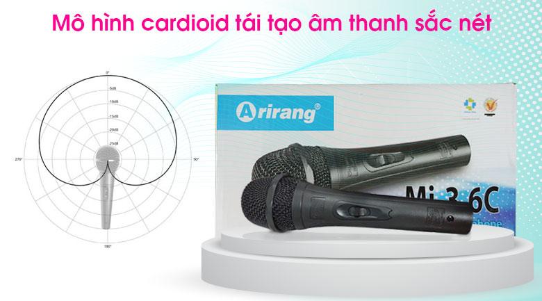 Micro có dây Arirang MI3.6C 2
