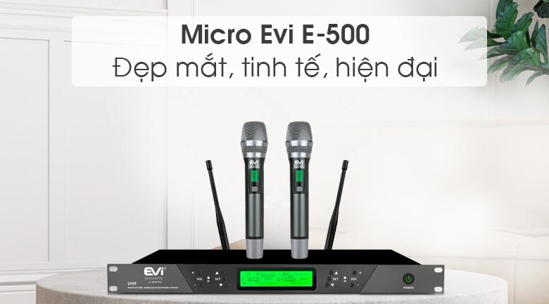 Micro Evi E-500 tính năng 2