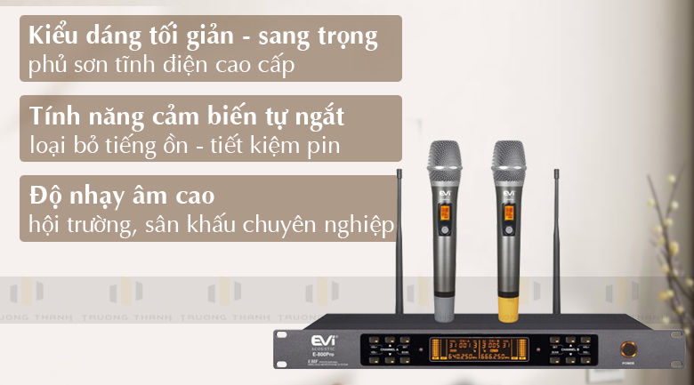 Micro Evi E-800 tính năng 1