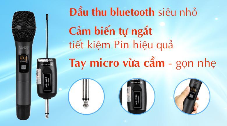 Micro Không dây Maingo MA-W80