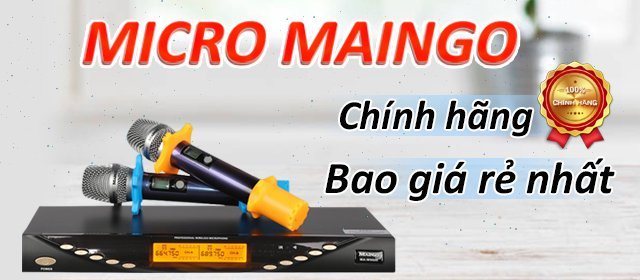 Micro maingo chính hãng, bao giá rẻ nhất