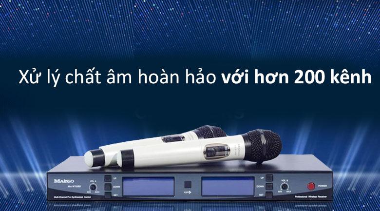 Micro Maingo MA W1000 | Hệ thống xử lí âm thanh hoàn hảo
