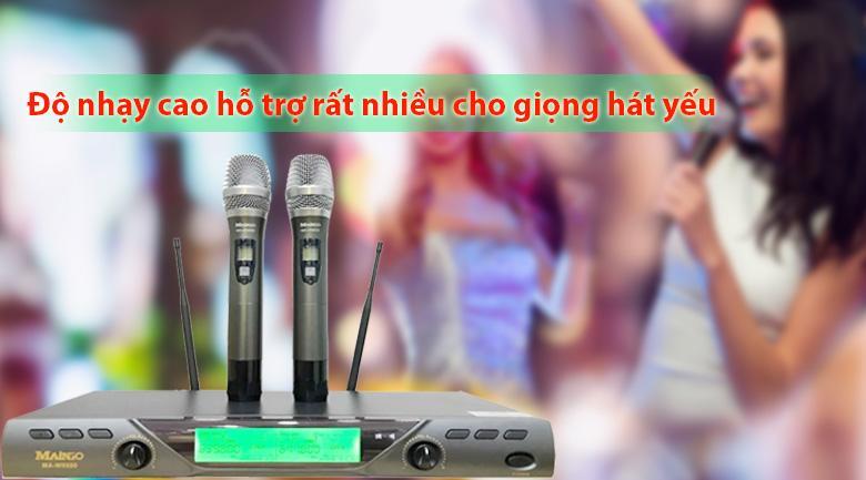Micro Maingo MA W6600 | Độ nhạy cao