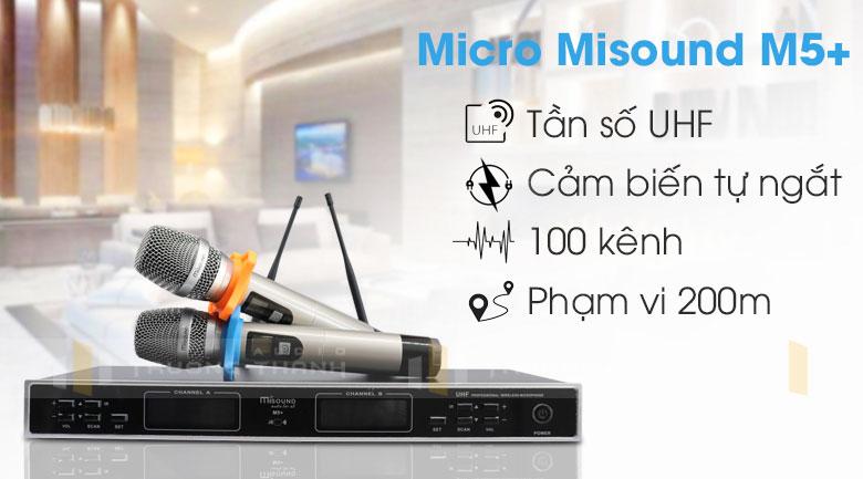 Micro Misound m5+ tính năng 4