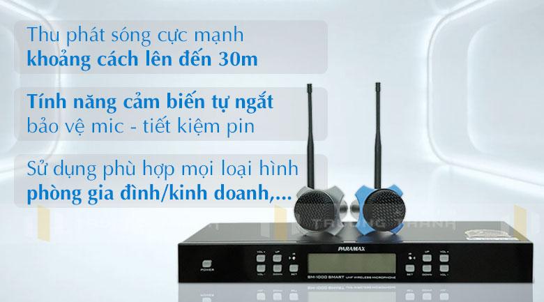 Micro Paramax SM-1000 Smart tính năng 1