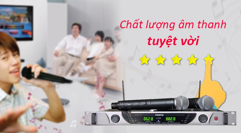 Micro Shure U930 | chất lượng âm thanh tuyệt vời