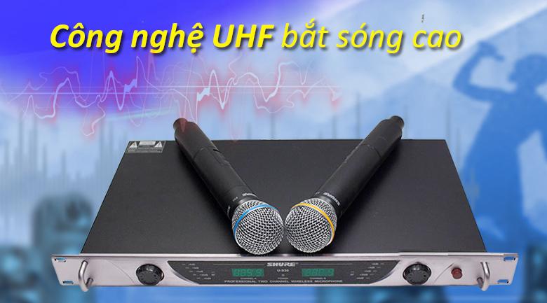 Micro Shure BLXC9 | Công nghệ UHF bắt sóng cao