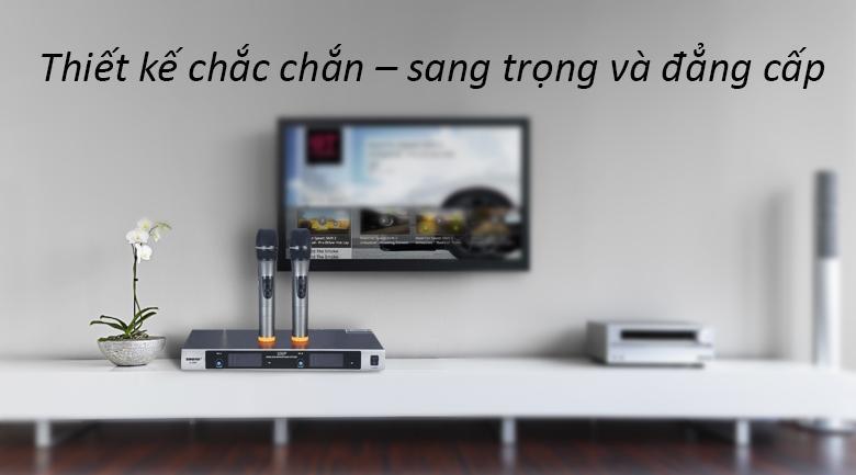 Micro Shure U980   Thiết kế chắc chắn, sang trọng và đẳng cấp