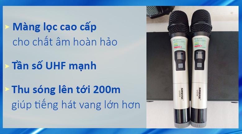 Micro Shure UGS9 | Micro có khoảng cách thu phát cao