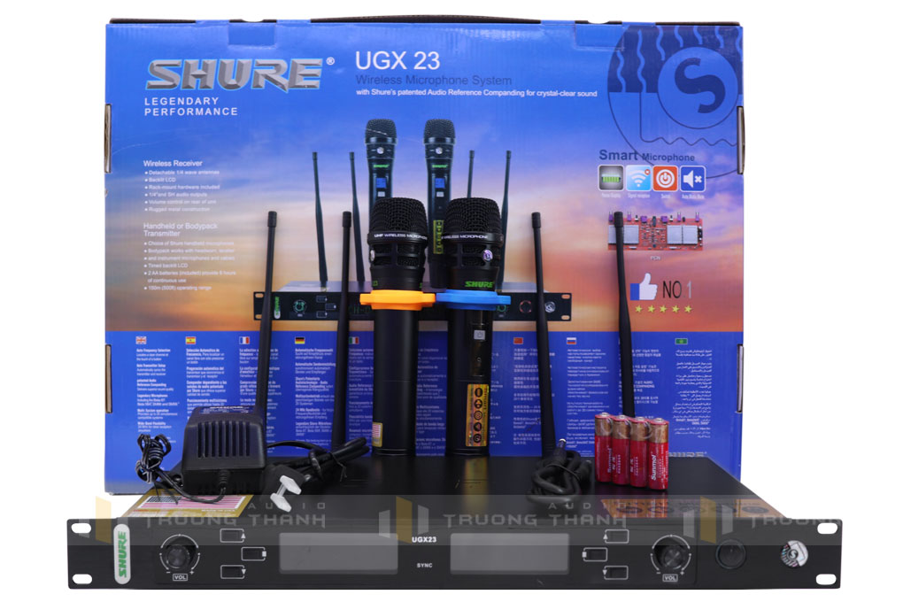 Micro Shure UGX23 ảnh 01