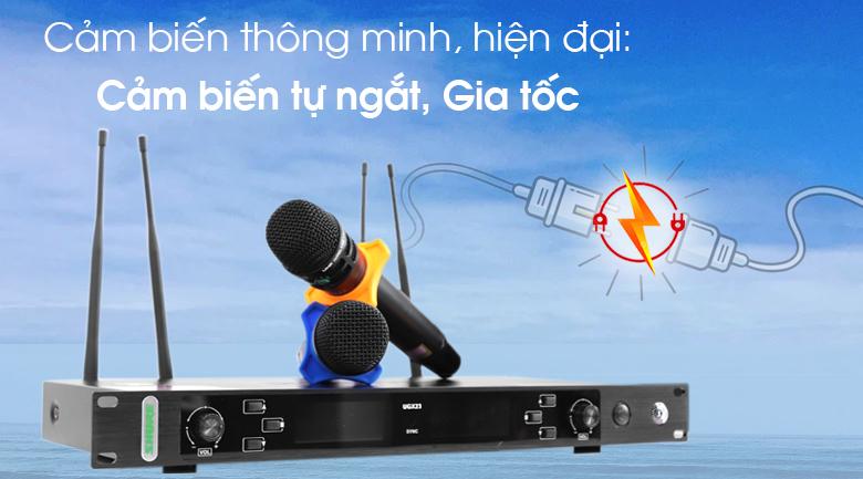 Micro không dây Shure UGX23 tính năng 3
