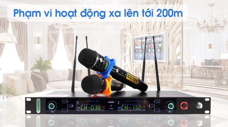 Micro không dây Shure UGX23 tính năng 2