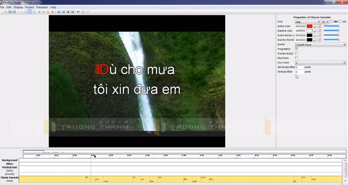 Giao diện sử dụng Karafun Studio
