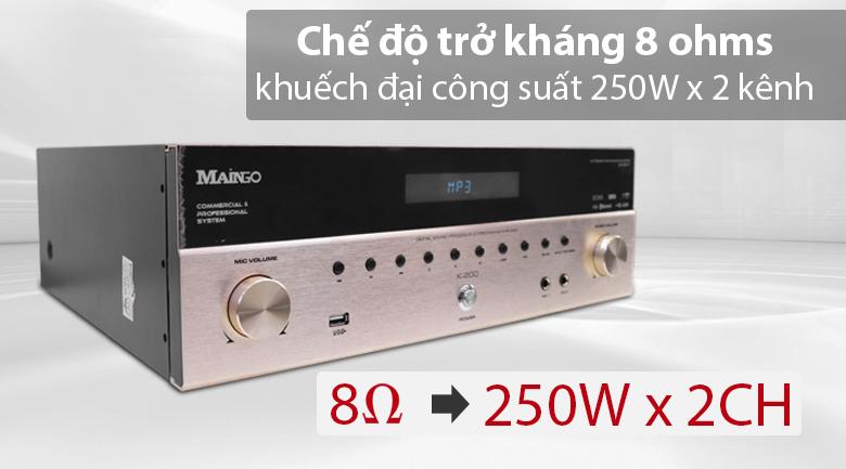 Amply maingo K200