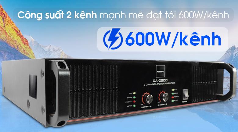 Công suất Paramax DA-2500