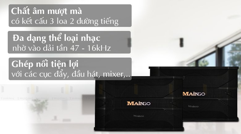 Tính năng Loa Maingo LS 558M
