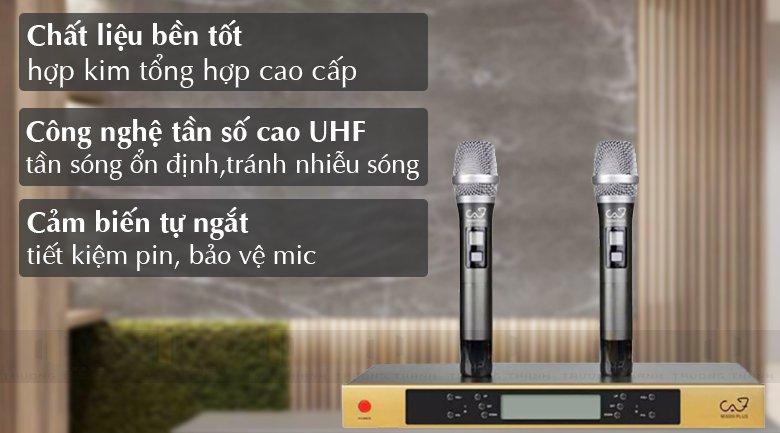 Tính năng Micro CAF M3000 Plus
