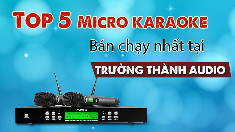Top 5 micro bán chạy nhất tại Trường Thành Audio