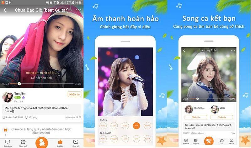 Ứng dụng hát karaoke Now