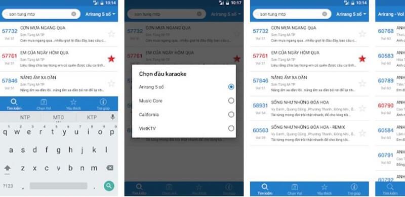 Ứng dụng hát karaoke Việt Nam