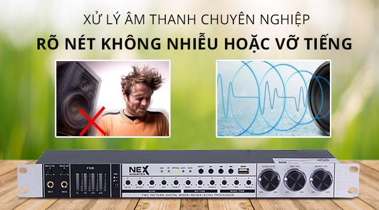 Vang cơ Nex Fx8 | Xử lý âm thanh chuyên nghiệp rõ nét