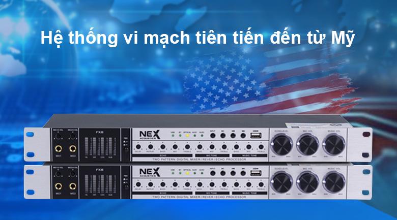 Vang cơ NEX FX8 | Hệ thống vi mạch tiên tiến đến từ Mỹ