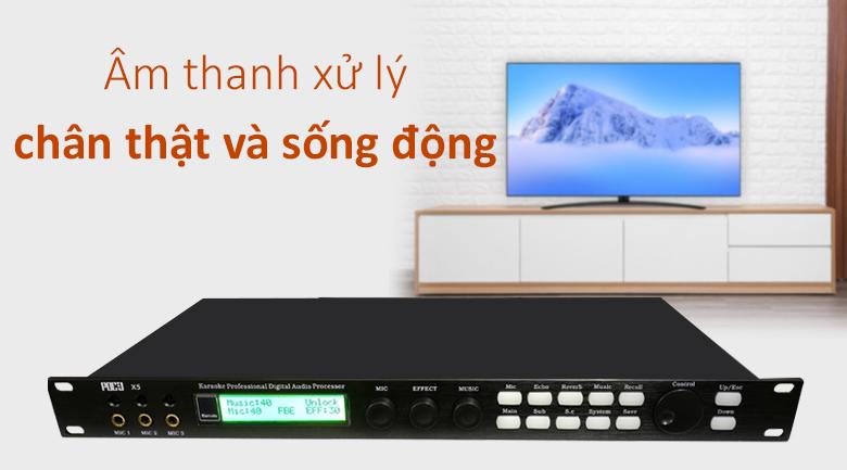 Vang số PDCJ X5 | Âm thanh xử lý chân thực và sống động