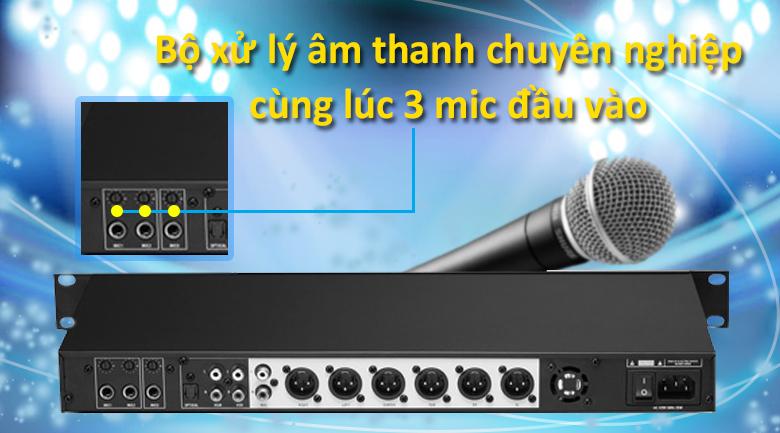 Vang số AAP K8888 | Bộ xử lý âm thanh chuyên nghiệp