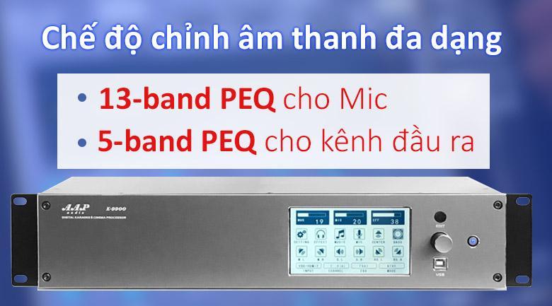 Vang số AAP K9900 | Chế độ chỉnh âm đa dạng