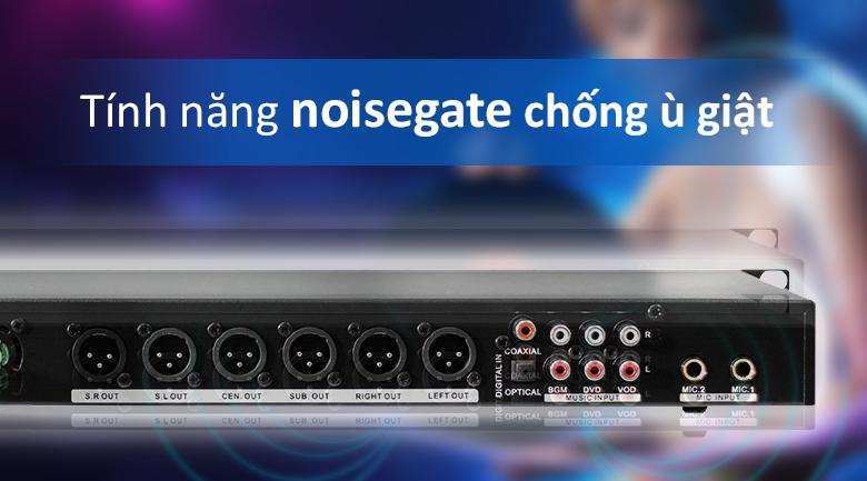 vang số AAP Z-2000 | Tính năng Noisegate chống ù giật