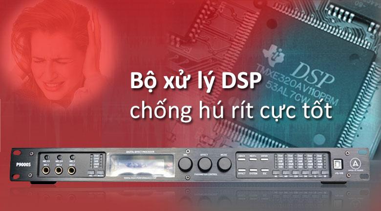 Vang số Apollo P9000S | Bộ xử lý DSP chống hú rít cục tốt