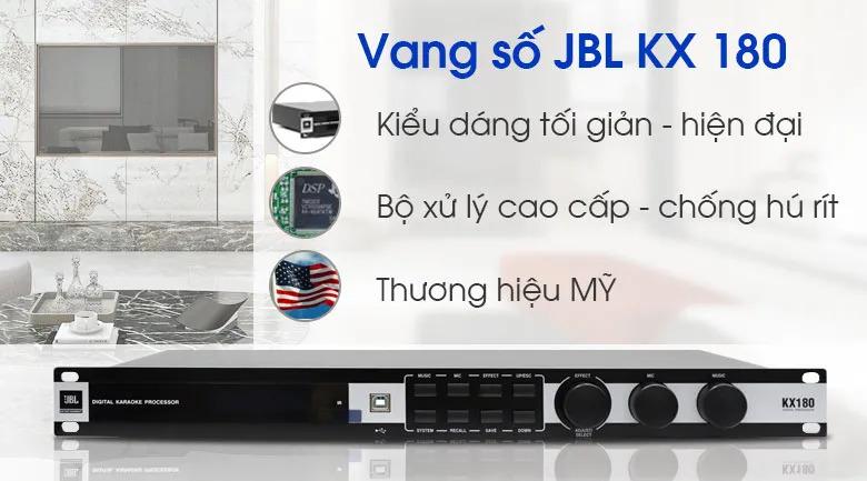 Vang số JBL KX180 tính năng 3