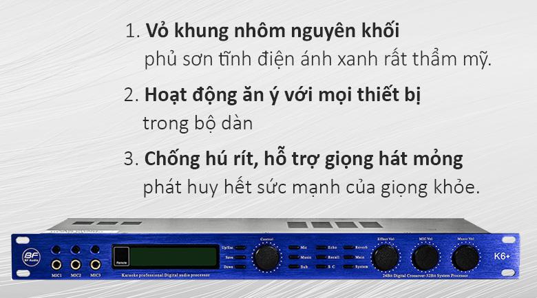 Vang số BF Audio K6 Plus | Vang số tốt nhất hiện nay