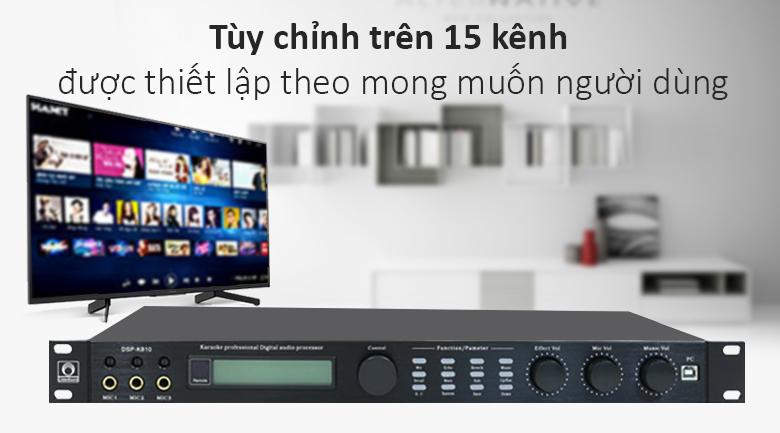 Vang số Phoenix K810   Tùy chỉnh trên 15 kênh