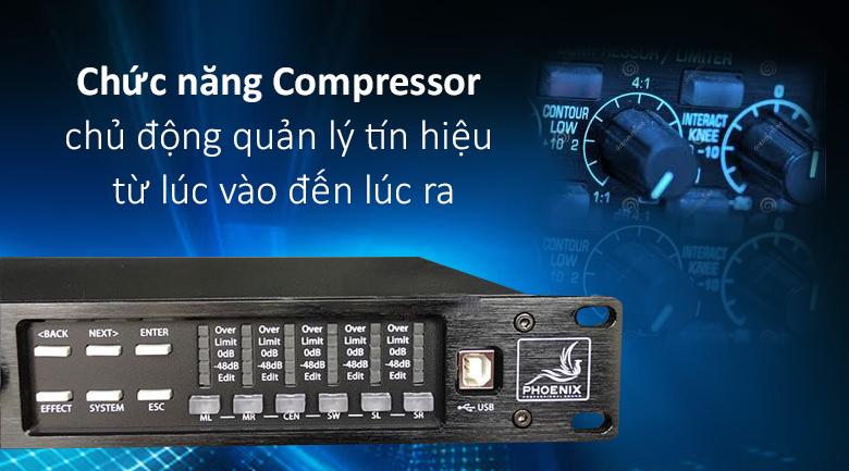 Vang số Phoenix K9000 | Chức năng quản lý tín hiệu hiện đại