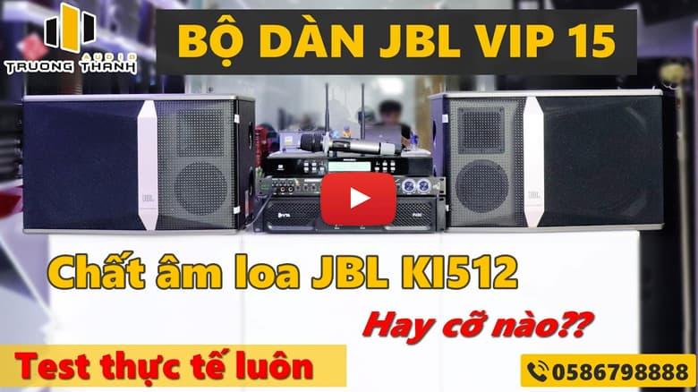 Video chất âm loa jbl