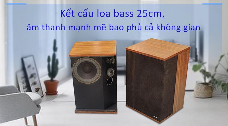 Loa Bose 501 series 4 | Kết cấu loa tiêu chuẩn