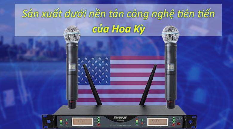Micro Shure UR24D | nhập khẩu Hoa Kì